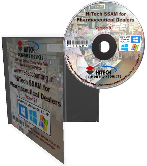 Medical Store Accounting Software CD Case